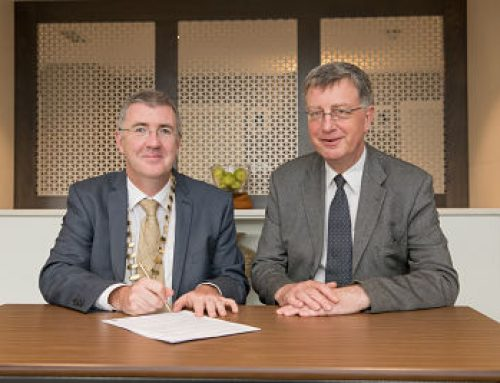 Reciprocal agreement signed with UK Institute